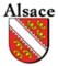 Plaque immatriculation Région %s Alsace
