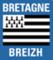 Plaque immatriculation Région %s Bretagne