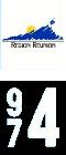 Plaque immatriculation Région %s Réunion